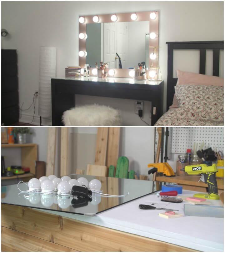 How to Make Vanity Mirror