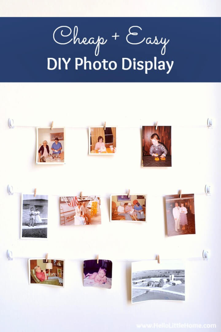 How to Make a Photo Display Gallery