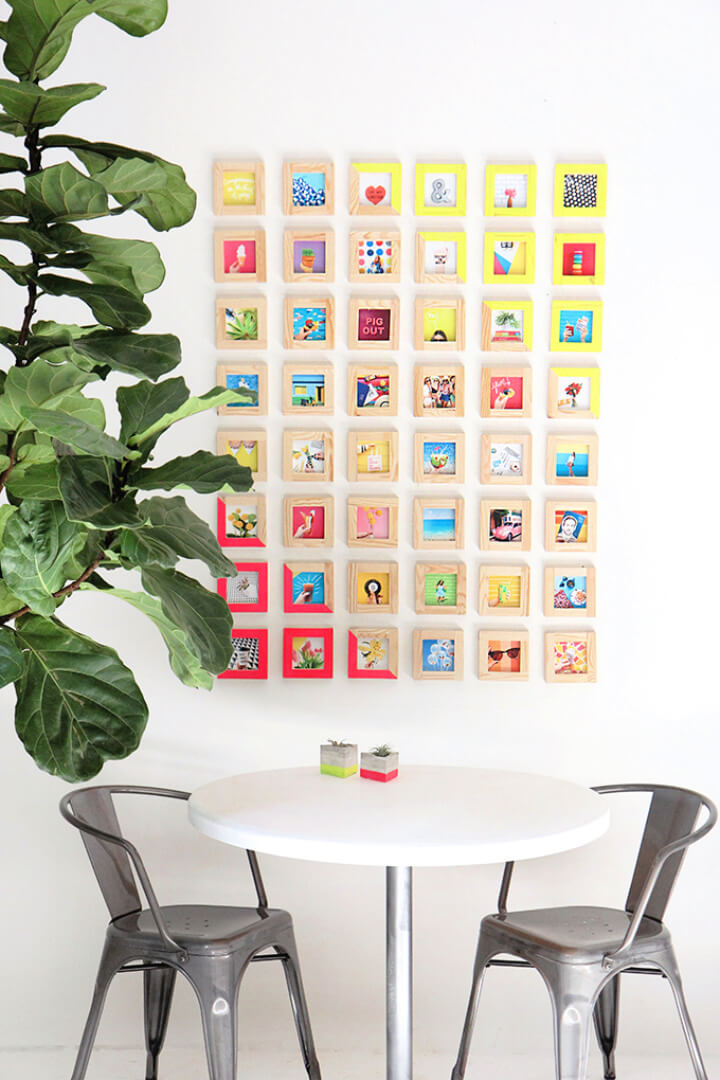 How to Make a Tiny Picture Gallery Wall