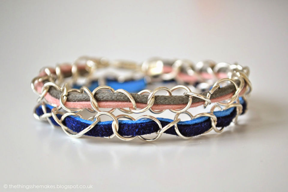 How to Make a Woven Findings Bracelet