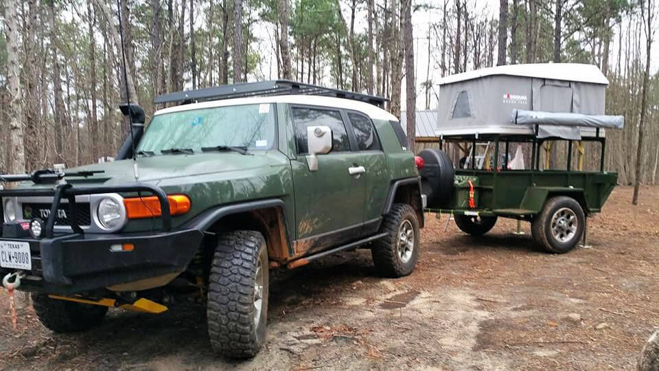 How to Make an Off Road Trailer for Camping