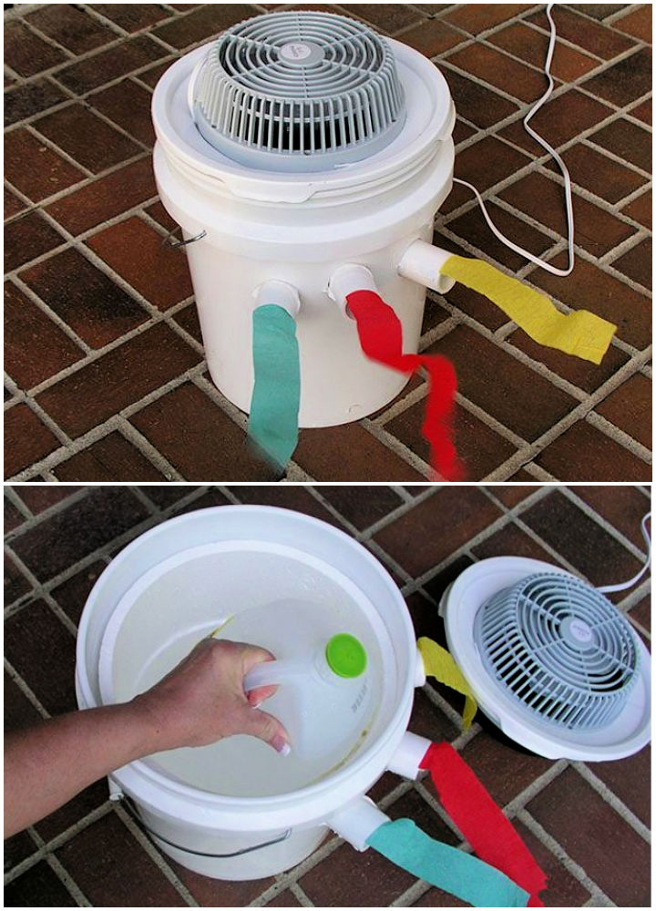 Inexpensive DIY Air Conditioner