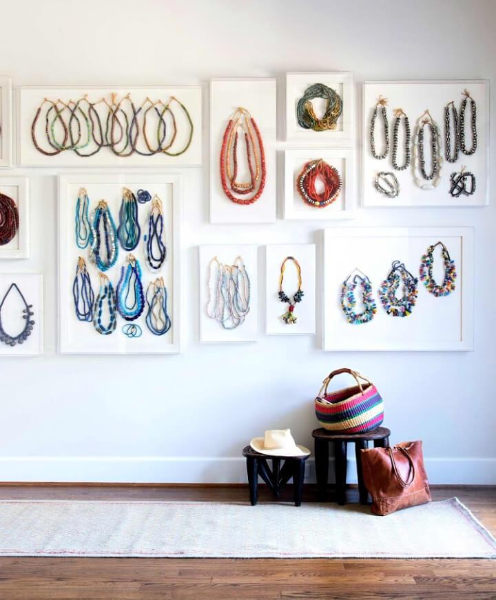 Jewelry Gallery Wall