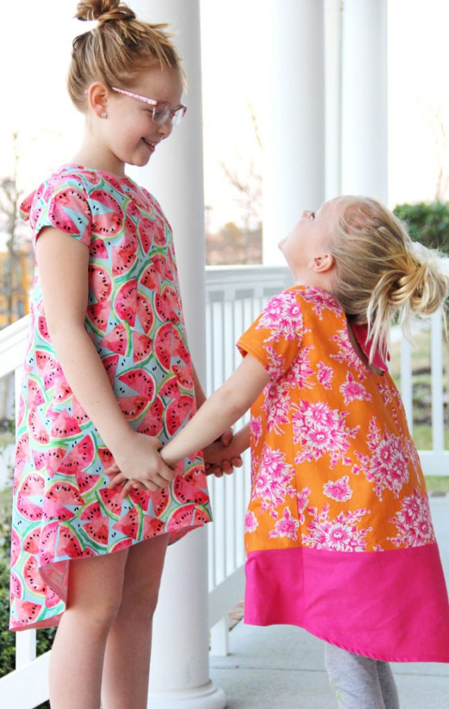 Knot Swing Dress – Free Pattern