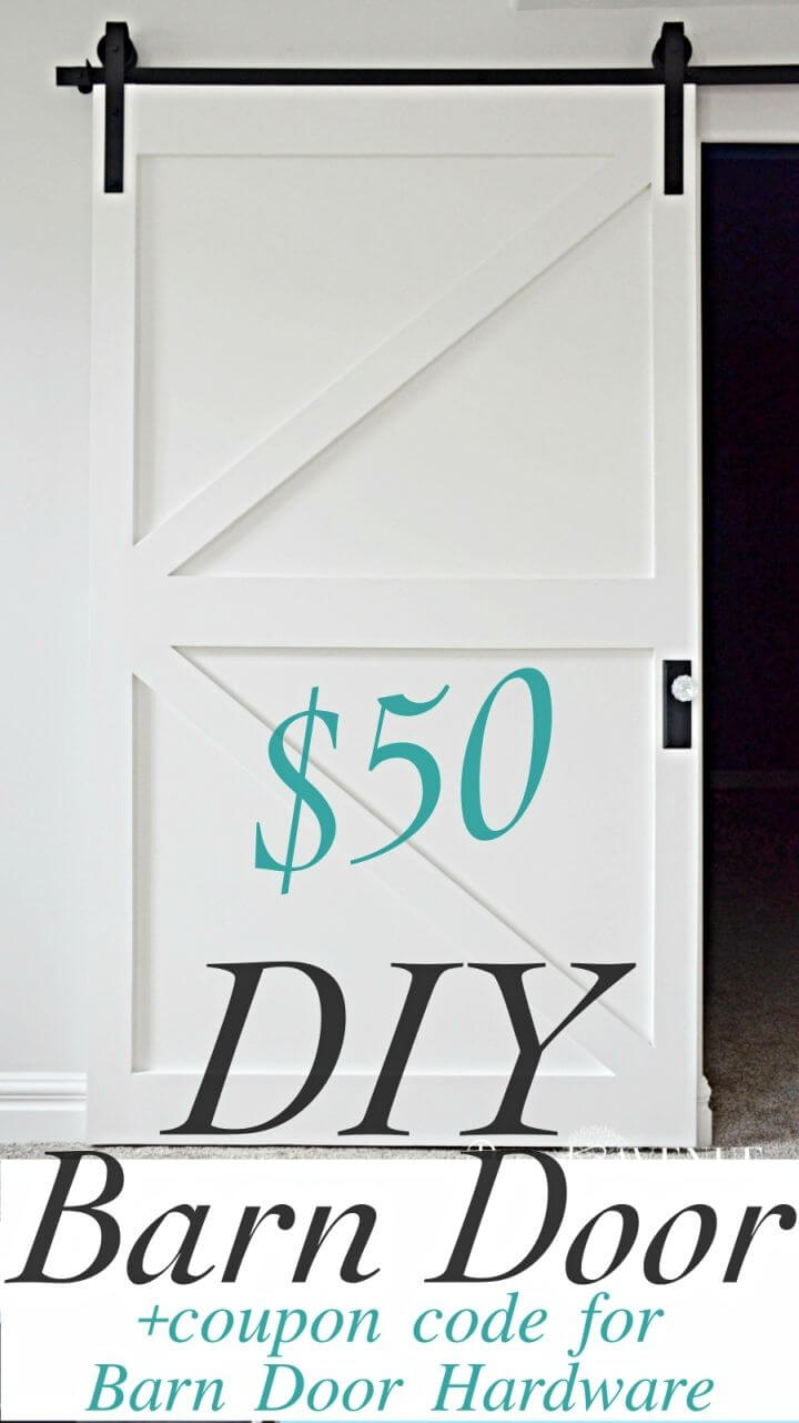 Make 50 British Brace Barn Door