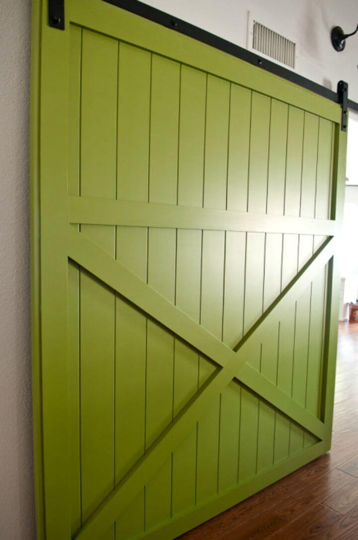 Make 6 Ft Wide by 7 Foot Tall Barn Door
