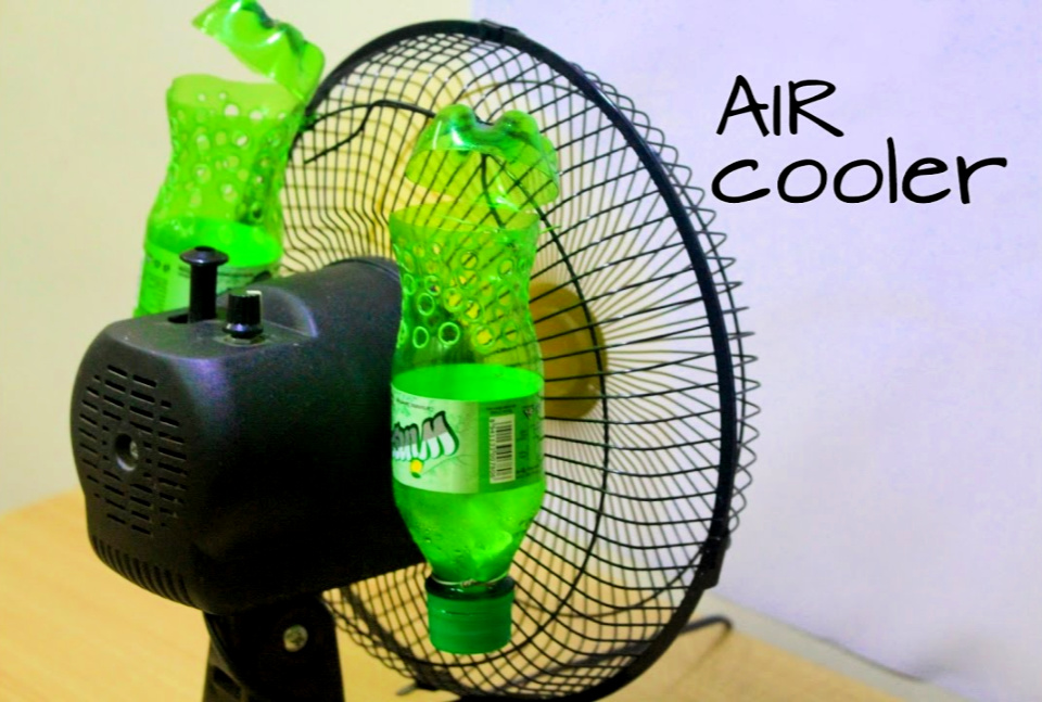 Make Air Conditioner At Home Using Plastic Bottle