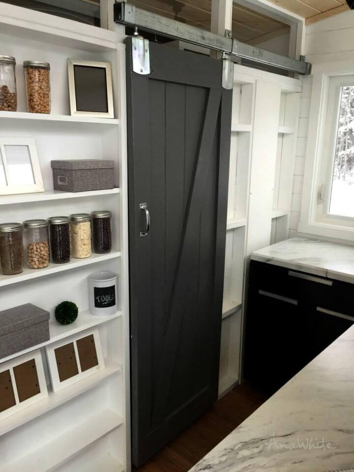 Make Barn Door for Tiny House