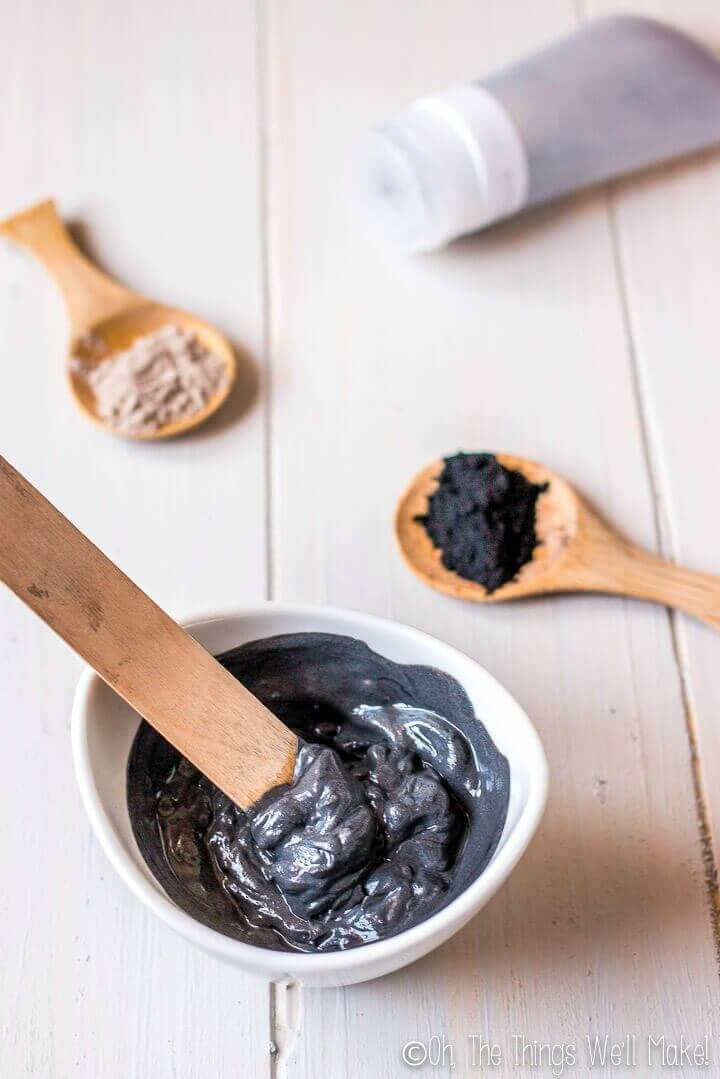 Make Charcoal Face Mask for Acne Prone Skin 1