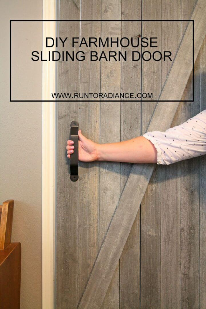 Make Farmhouse Sliding Barn Door