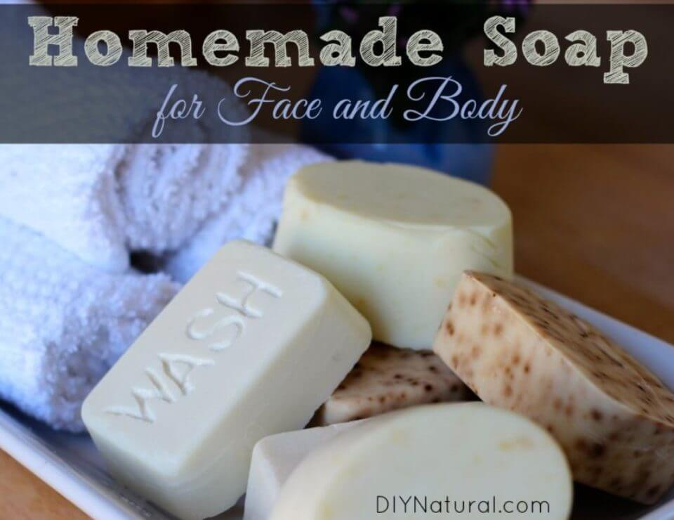 Make Soap for Hand and Body