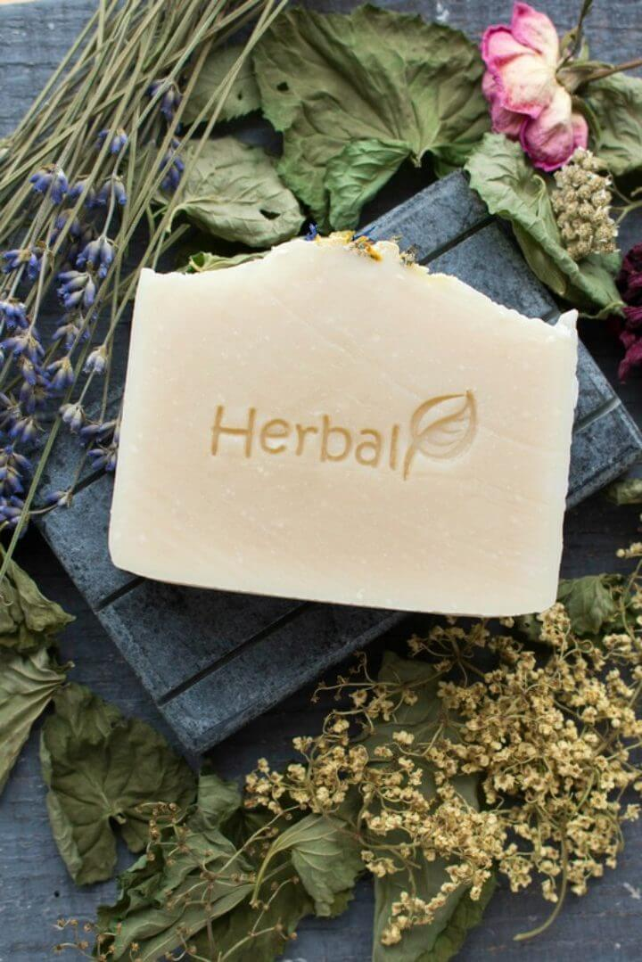 Make Soap with Herbs