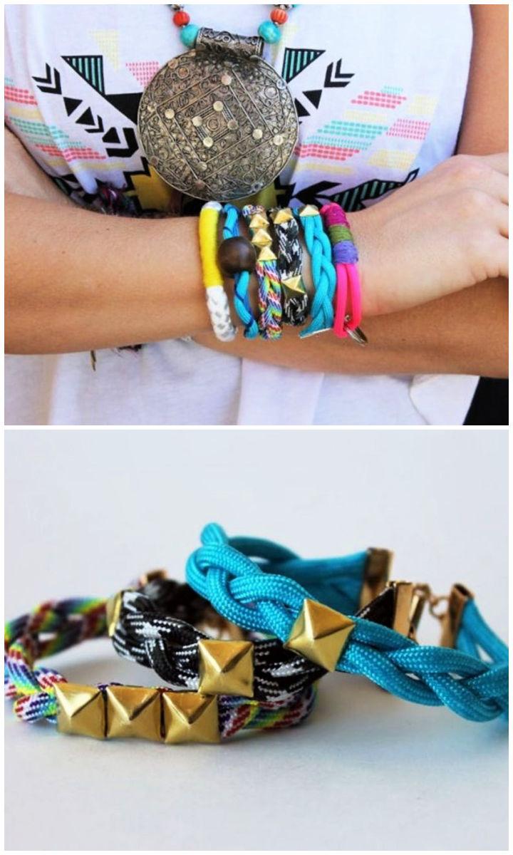 Make Trendy Rope Friendship Bracelets