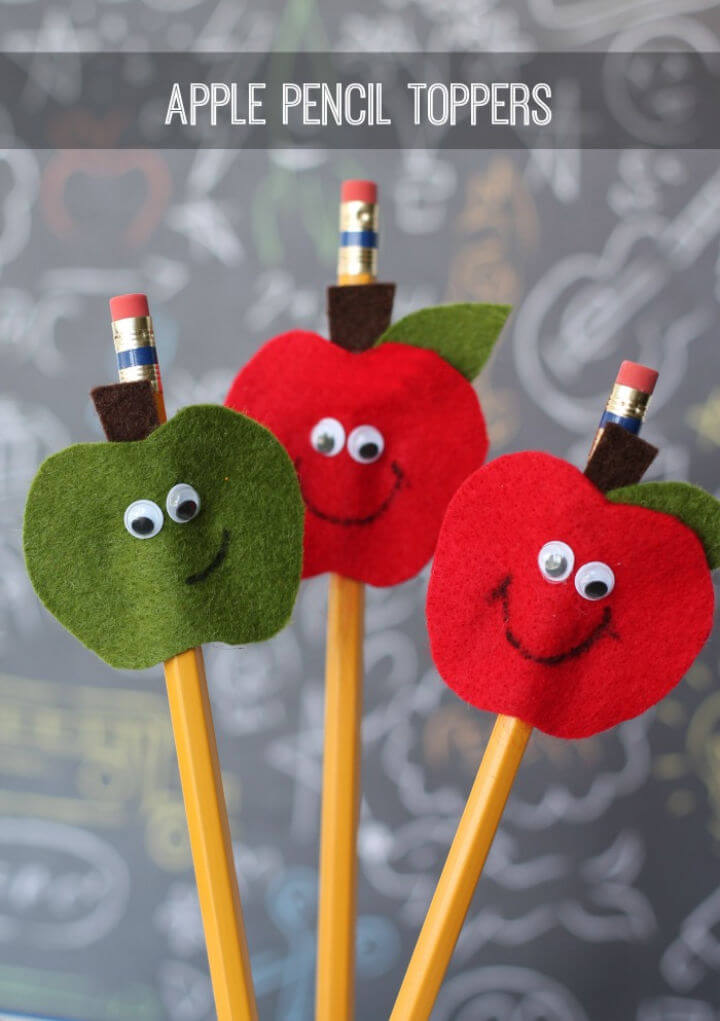 Make Your Own Apple Pencil Toppers