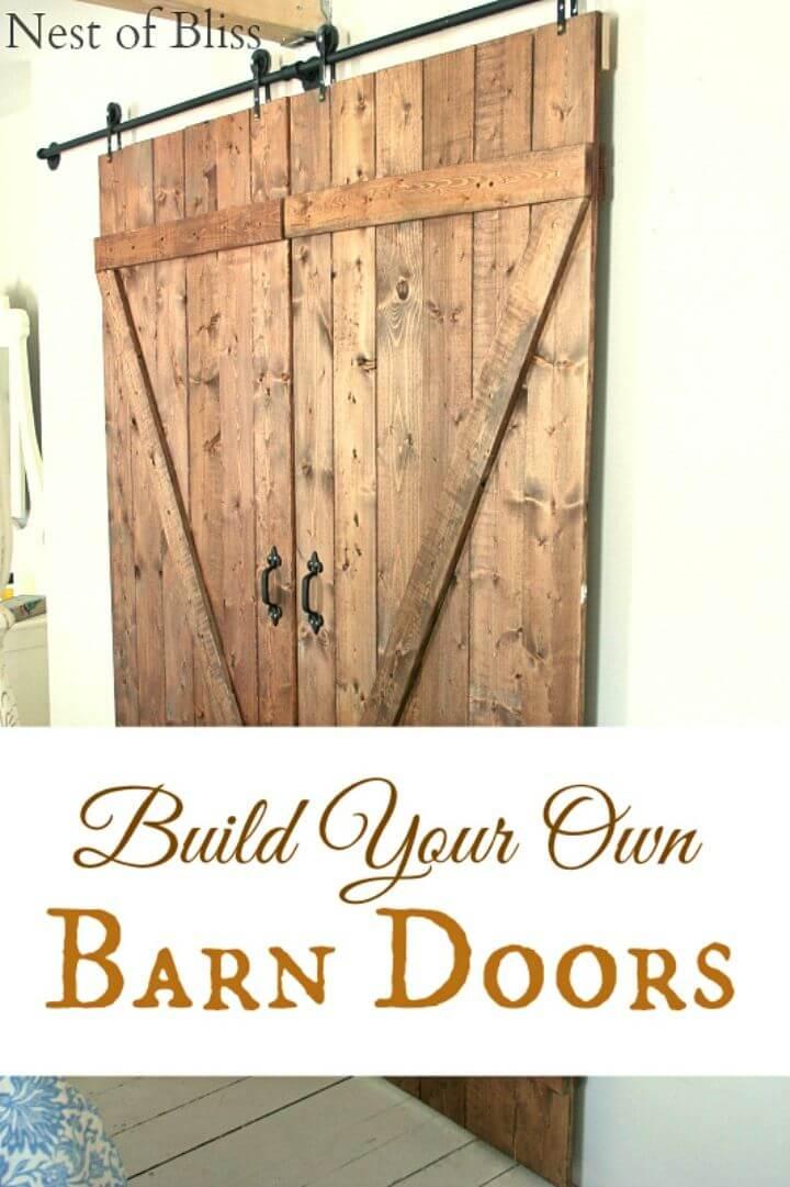 Make Your Own Barn Doors