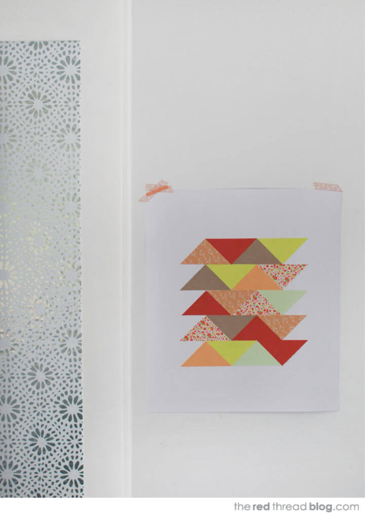 Make Your Own Paper Patchwork Art