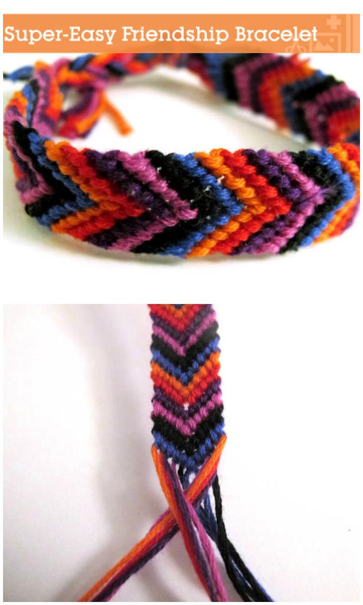 Make a Super Easy Friendship Bracelet