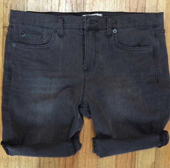 Making Jean Shorts At Home
