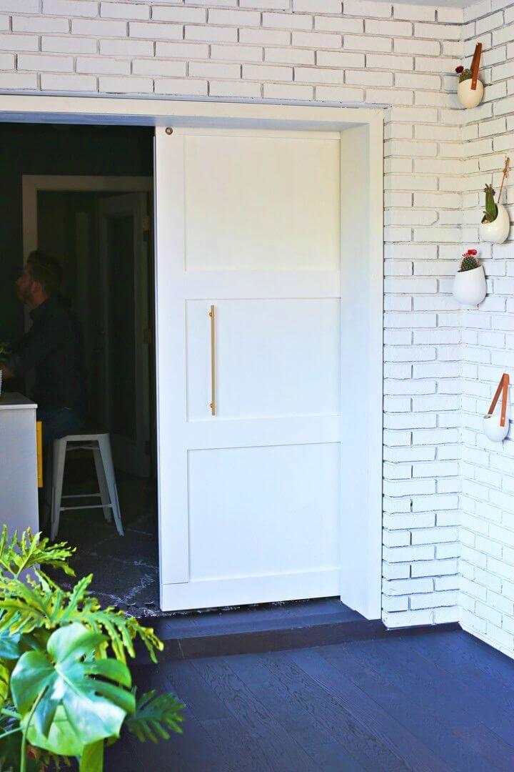 Modern DIY Barn Door