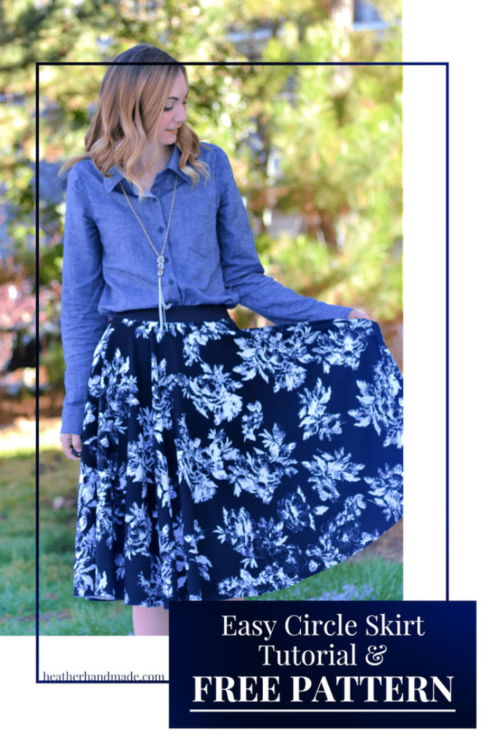 Pencil Circle Skirts – Free Pattern