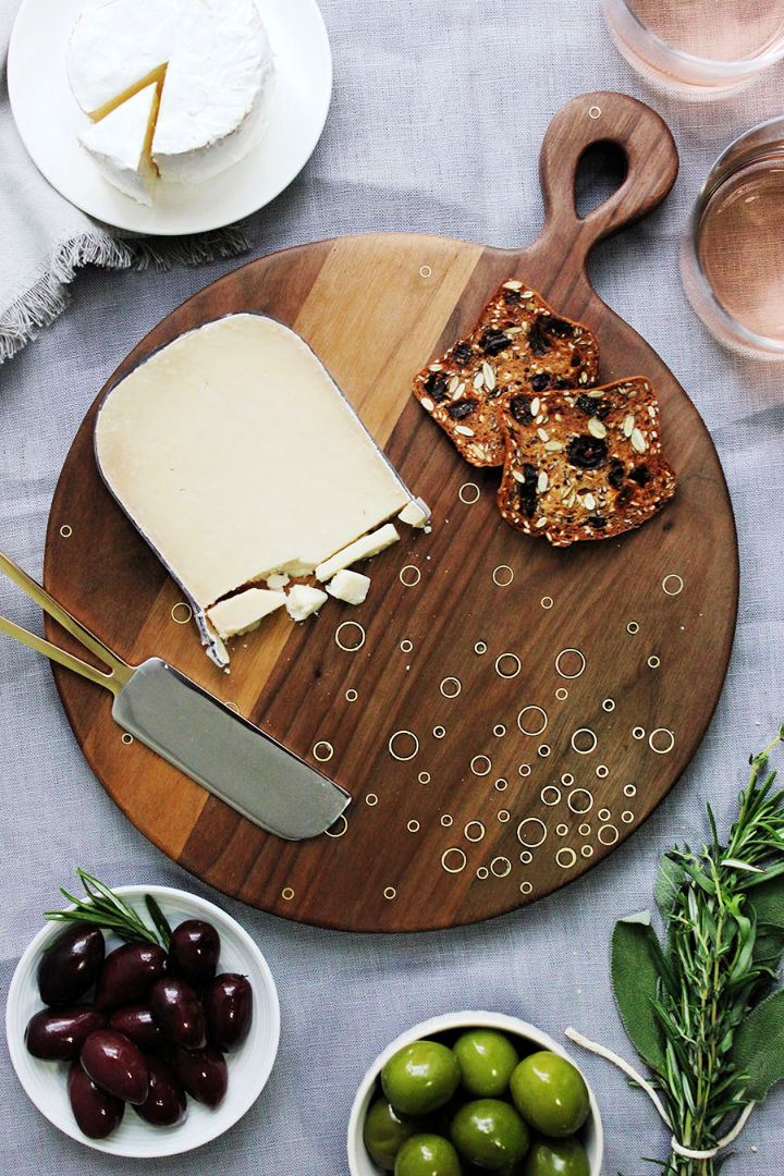 Personalized Monogram Cutting Board