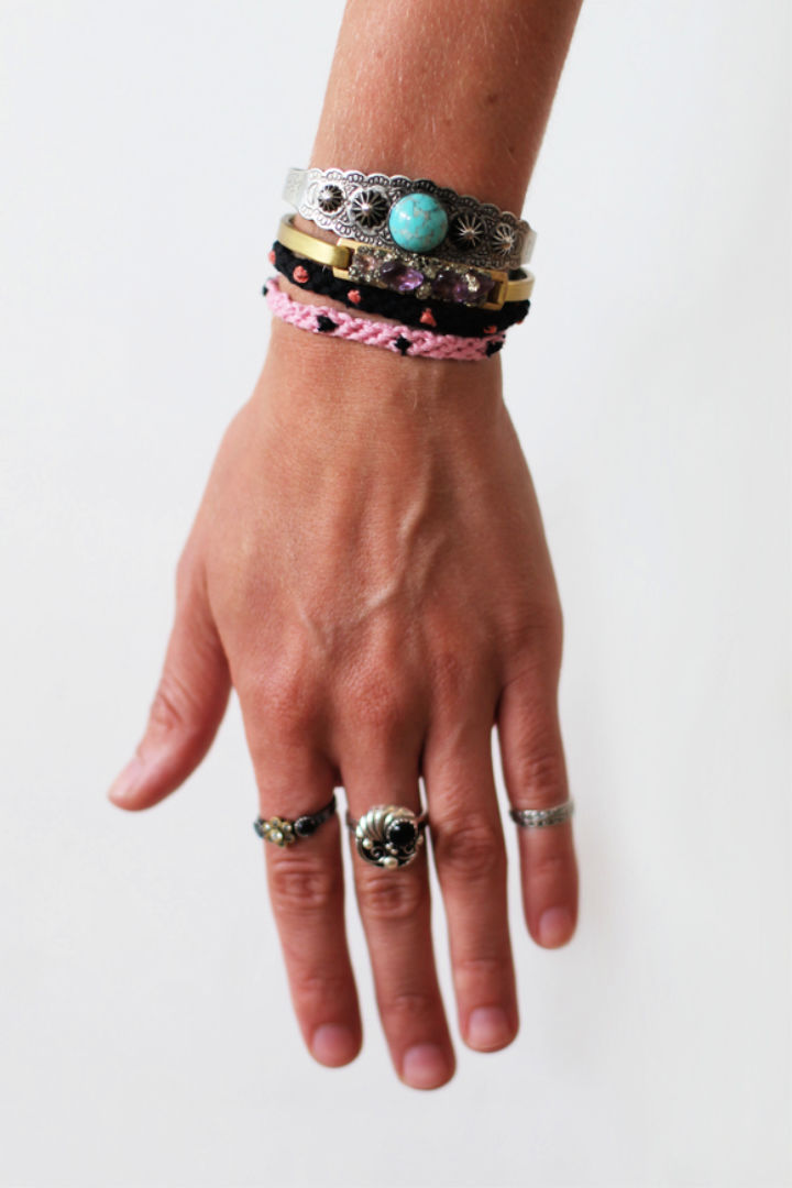 Polka Dot Friendship Bracelet