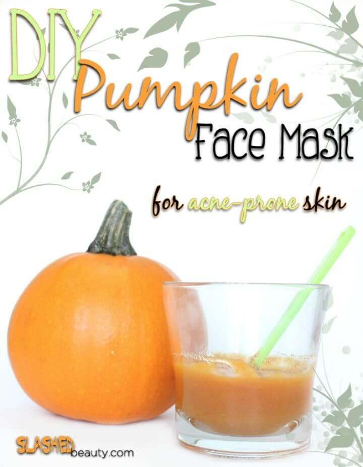 Pumpkin Face Mask for Acne prone Skin