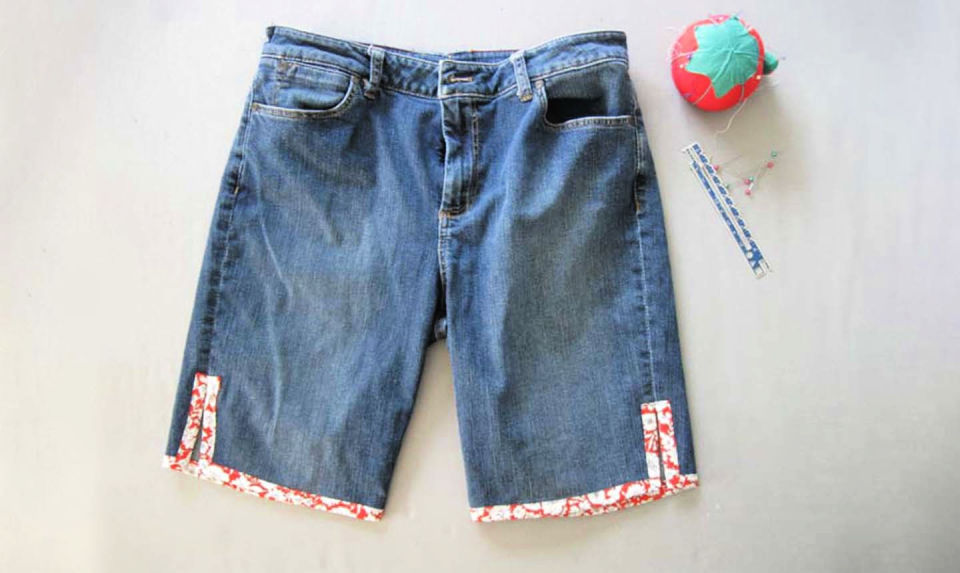 Repurpose Old Jeans Into Cute Shorts