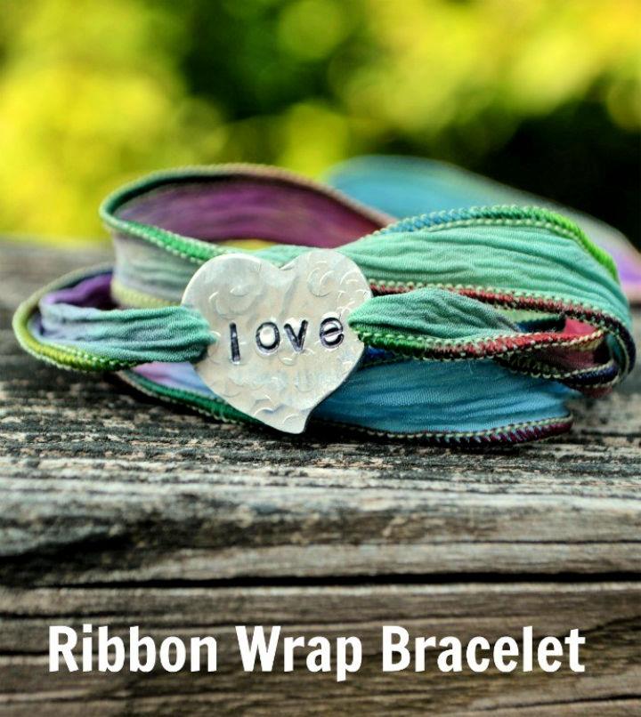 Ribbon Wrap Friendship Bracelet
