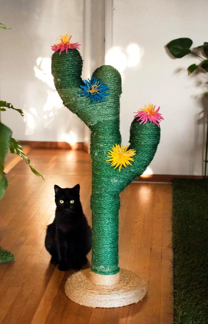 Saguaro Cactus Scratching Post for Cats