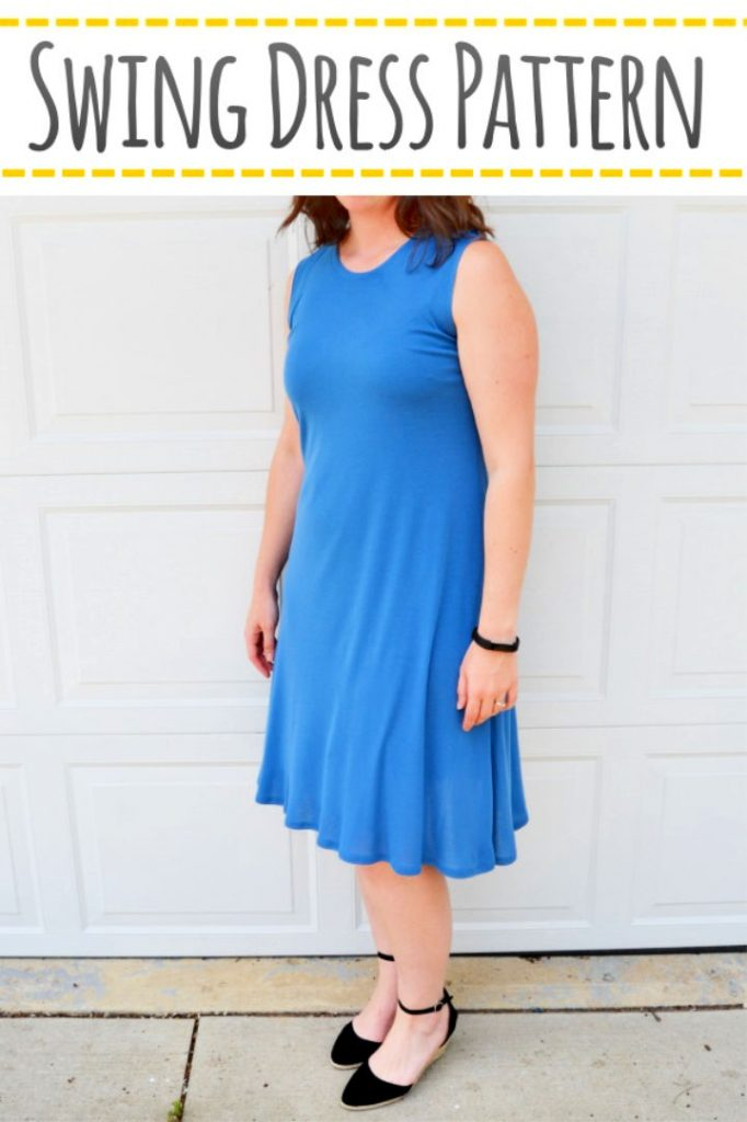 Sewing Pattern for a Swing Dress