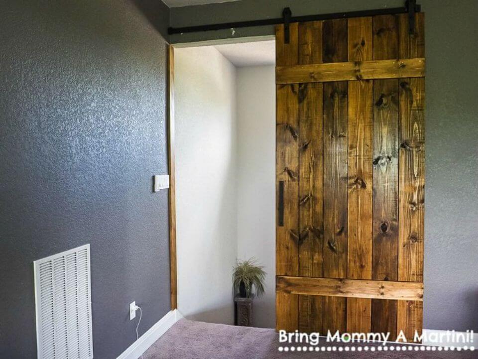 Simple DIY Barn Door