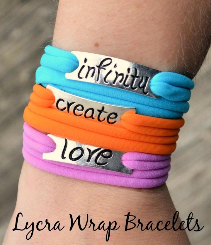 Stacking Lycra Wrap Bracelets