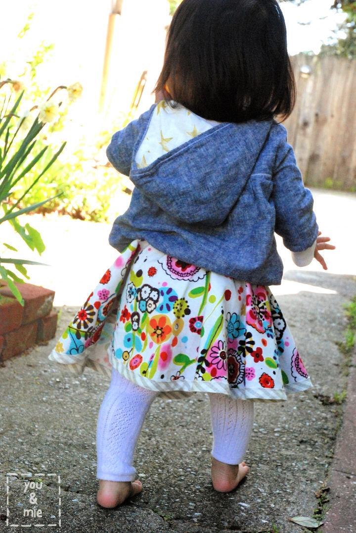 Super Easy Reversible Circle Skirt