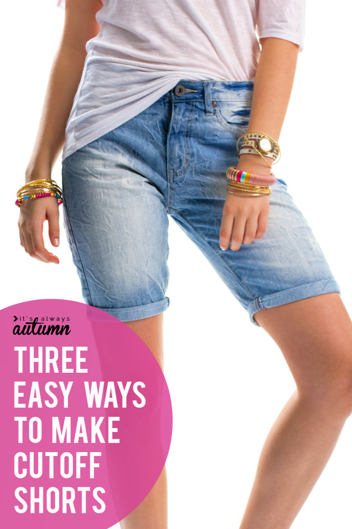 The Perfect Cut Off Jeans In 15 Minutes