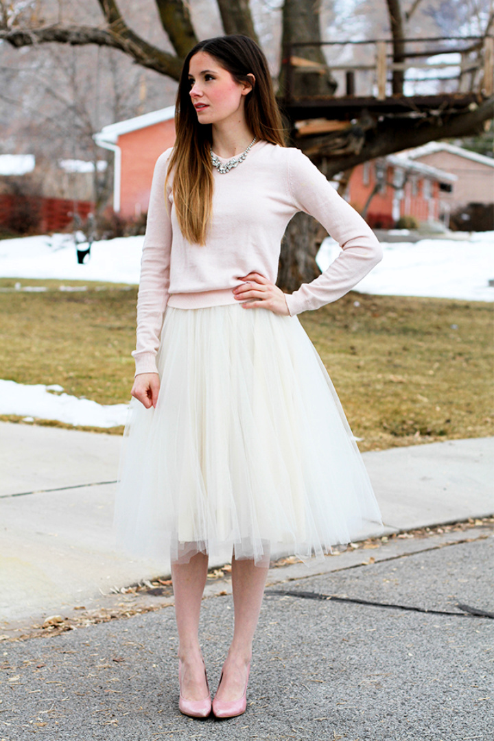 Very Simple Tulle Circle Skirt Pattern