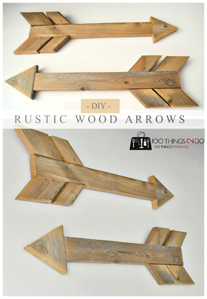 Wood Arrows to Build and Sell