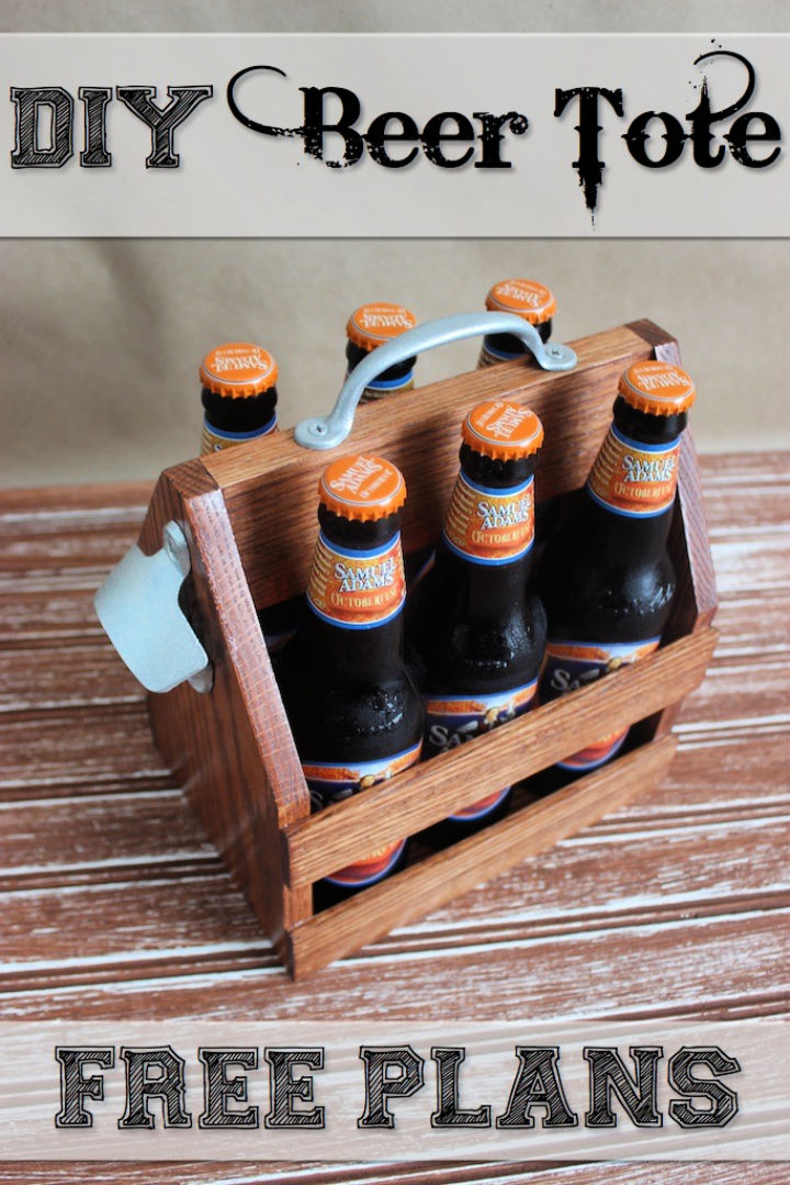 Wooden Beer Tote to Sell