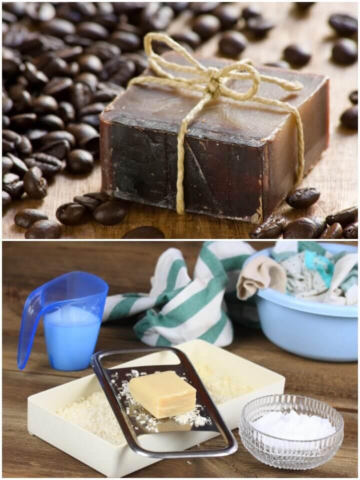 Zero Waste Coffee Soap