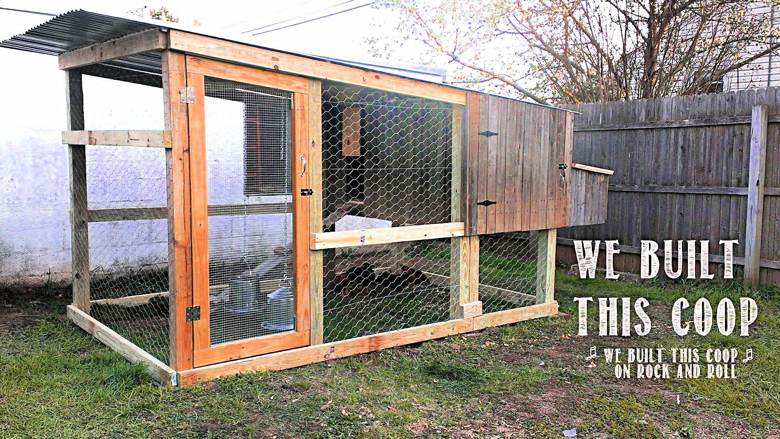 diy chicken coop tutorial