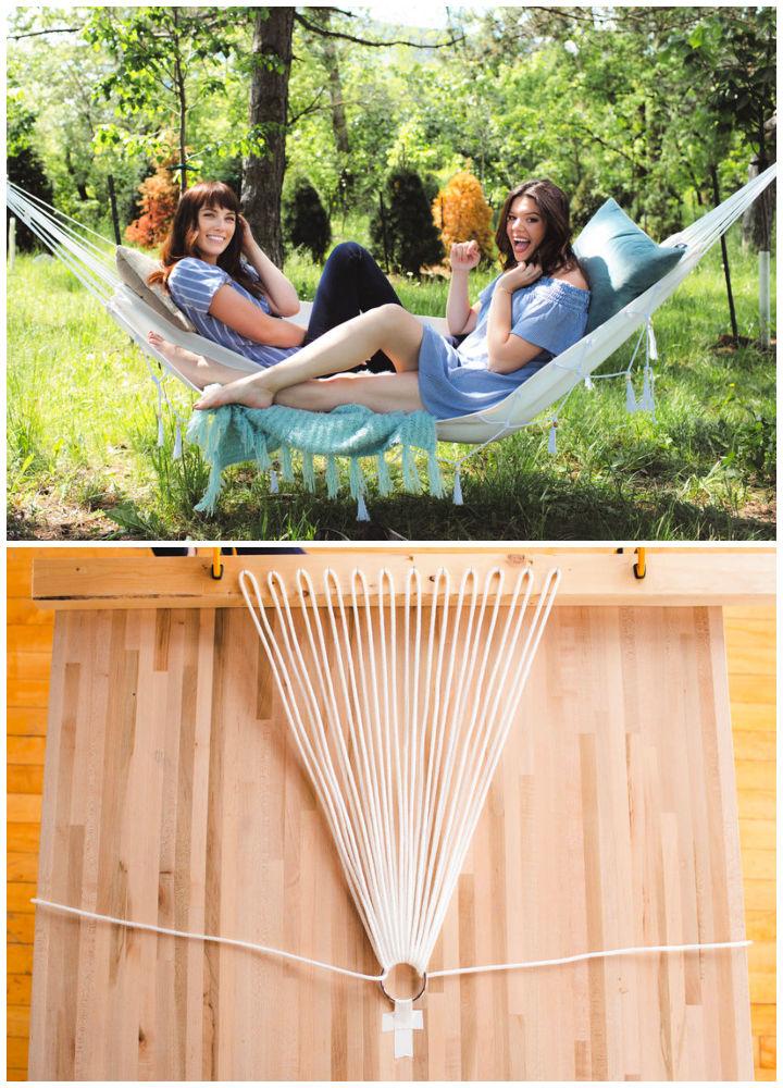 DIY Summer Hammock