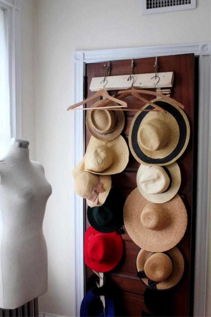 23 Unique Hat Storage Ideas Hat Rack And Organizer Ideas