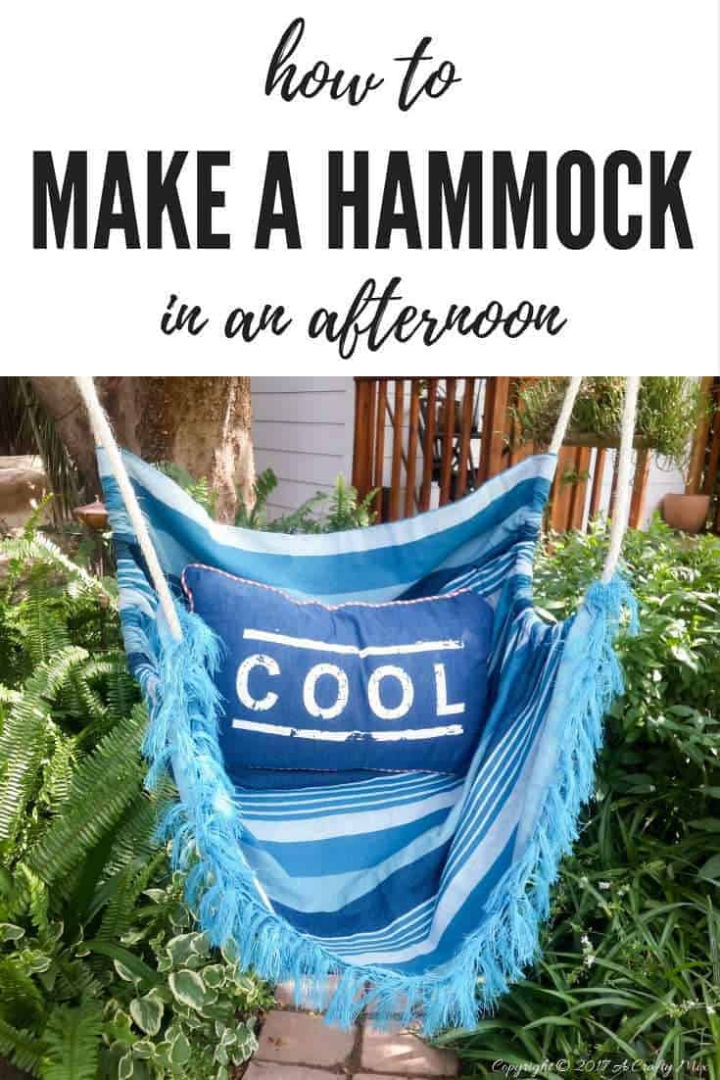 Make a Hammock in an Afternoon