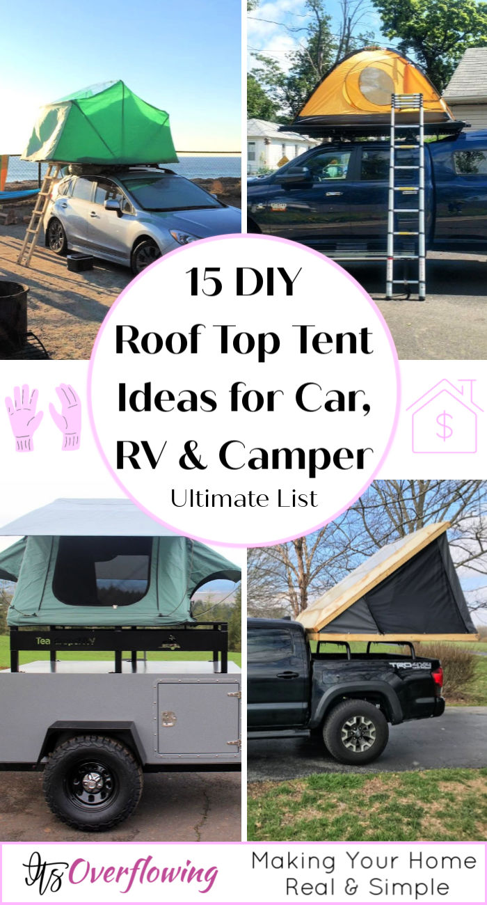 15 Diy Roof Top Tent Ideas For Car Rv And Camper