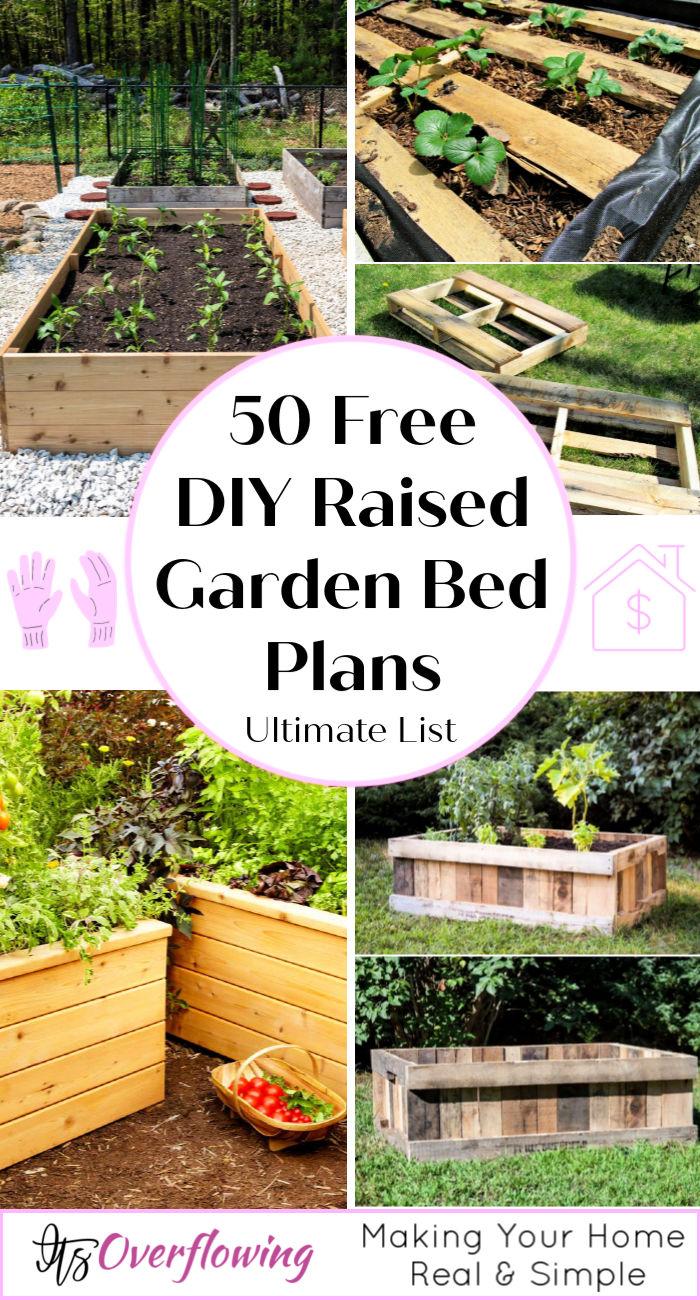 50 Free Diy Raised Garden Bed Plans Guide To Start Gardening
