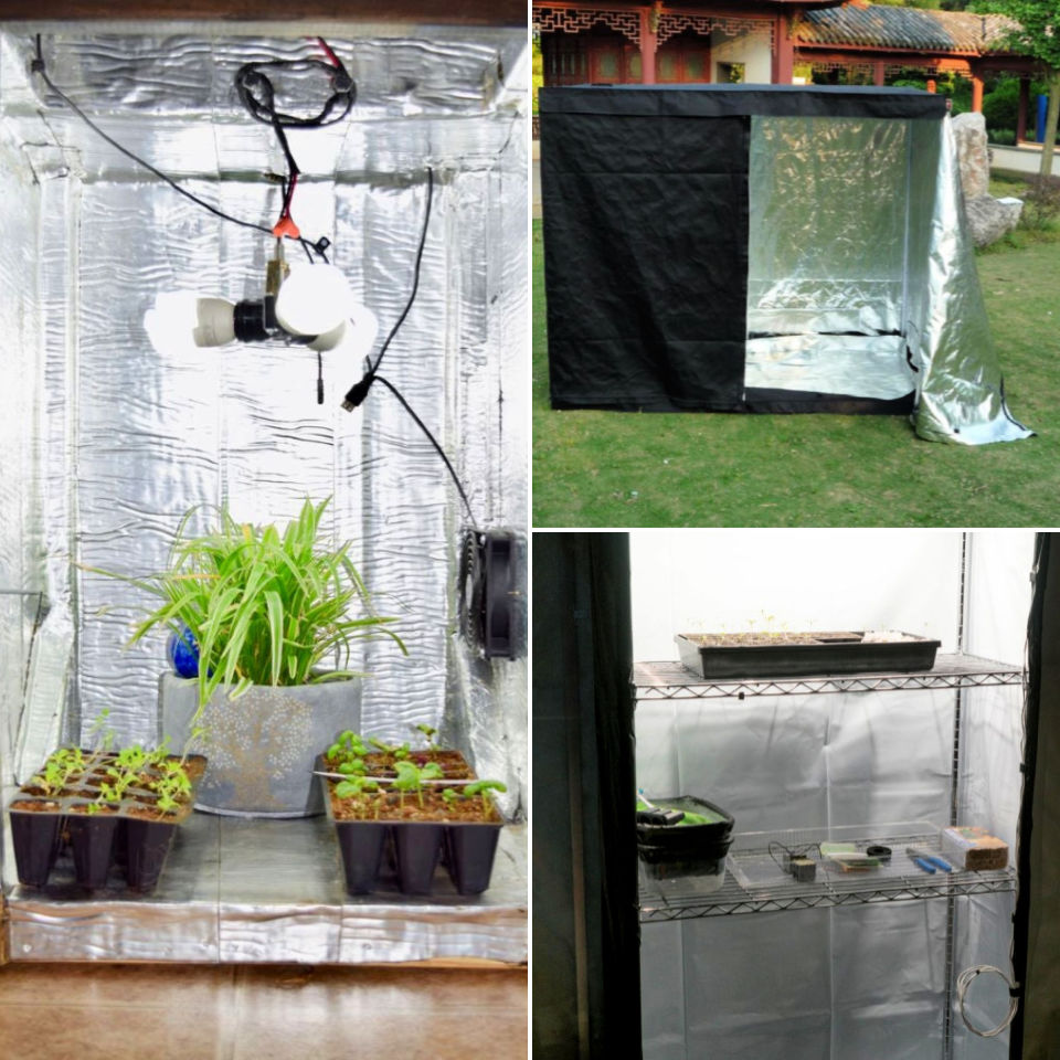 10 Diy Grow Tent Plans Build Your Own