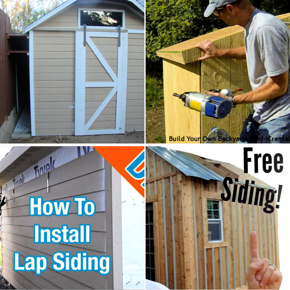 10 Cheapest Shed Siding Options You Can Diy Its Overflowing