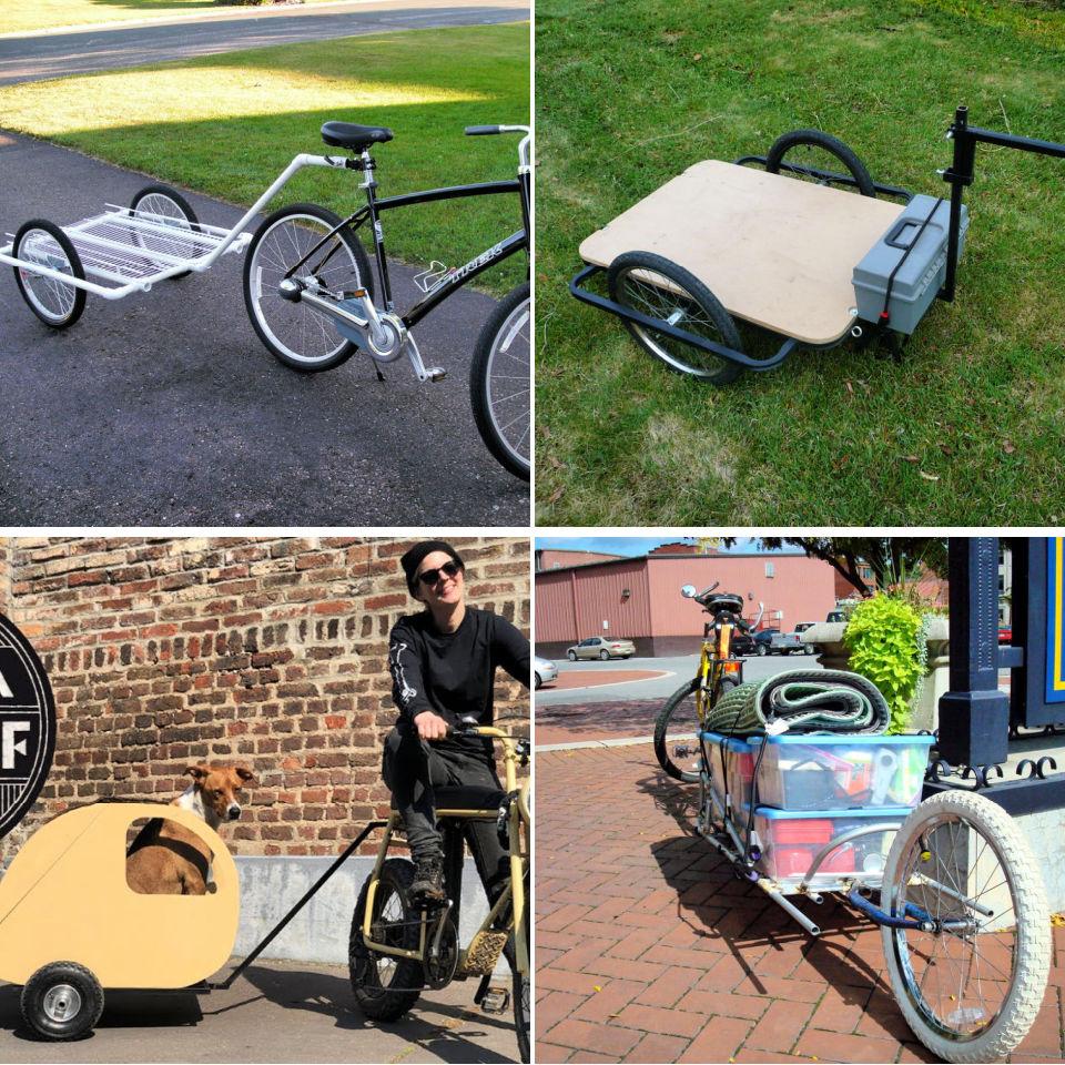 10 Free Diy Bike Trailer Plans